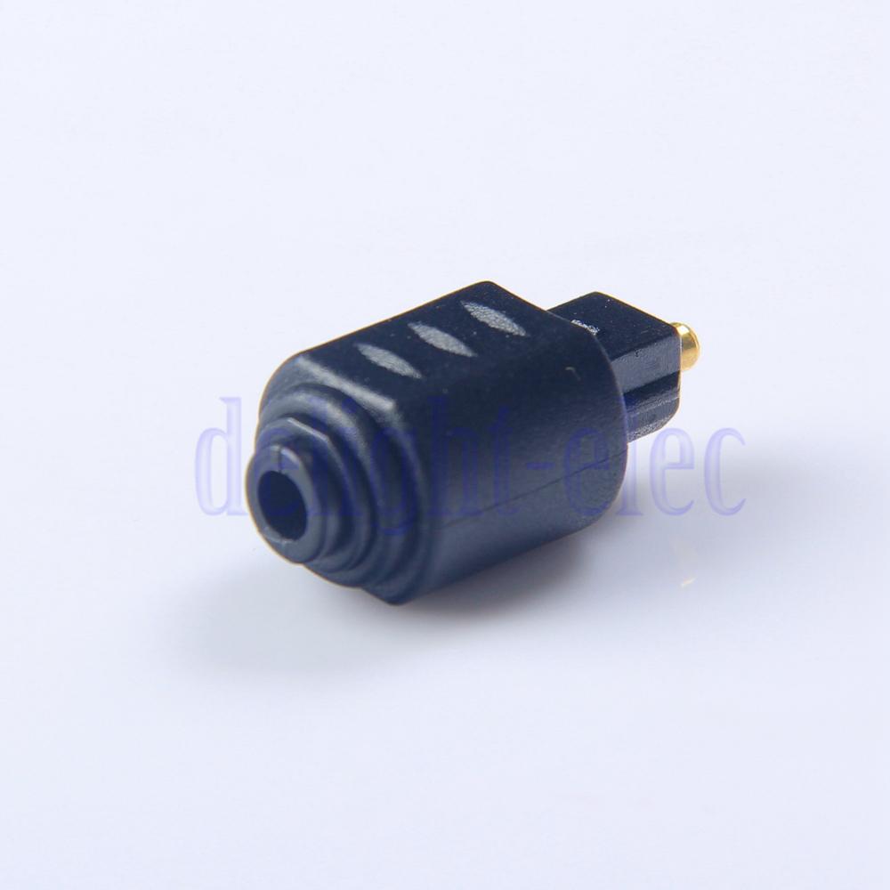 Mini Optical Audio Adapter 3.5MM Female Jack To Digital Toslink Male Plug AA2201(China (Mainland))