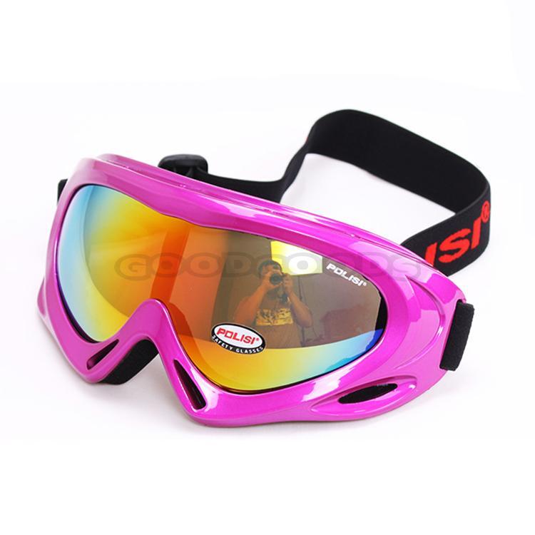 New 2015 POLISI Children Skiing Snow Sled Goggles Optical 100% UV400 Kids Ski Snowboard Glasses Eyewear Free Shipping(China (Mainland))