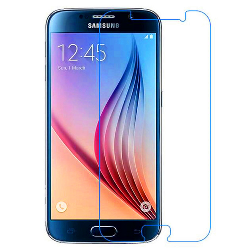 SM-G920F Premium 2.5D 9H Tempered Glass Film for Samsung Galaxy S6 Protection decran verre trempe Garde for Samsung Galaxy S6(China (Mainland))