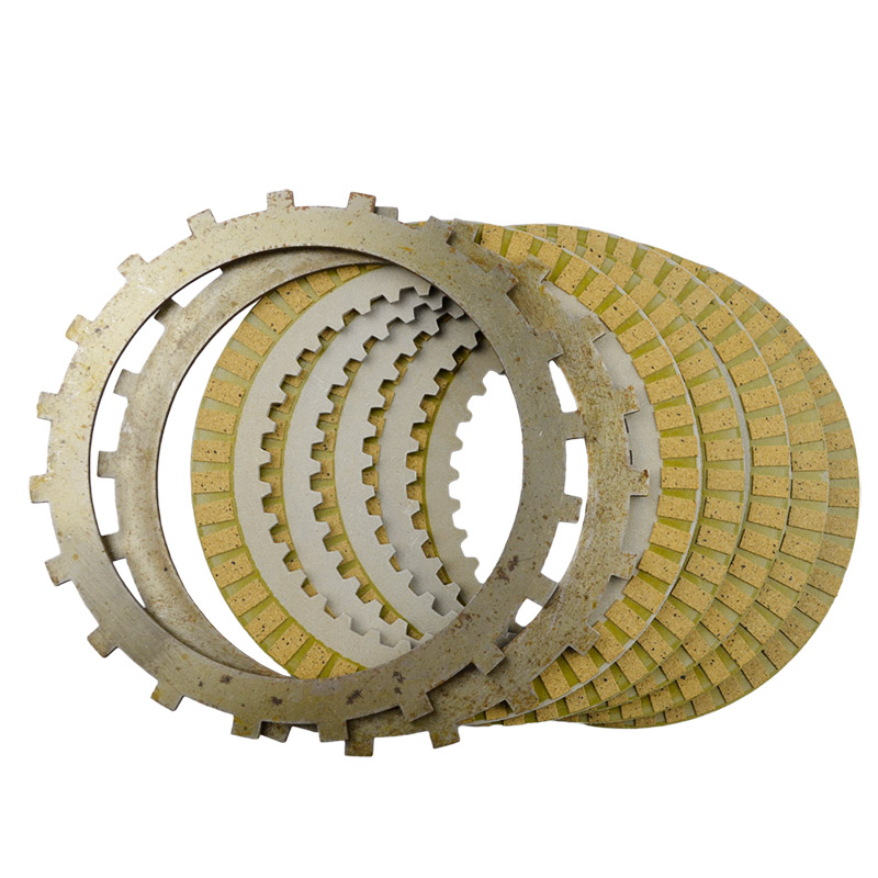 Engine Clutch Plate : A set motorcycle engine parts clutch friction plates kit