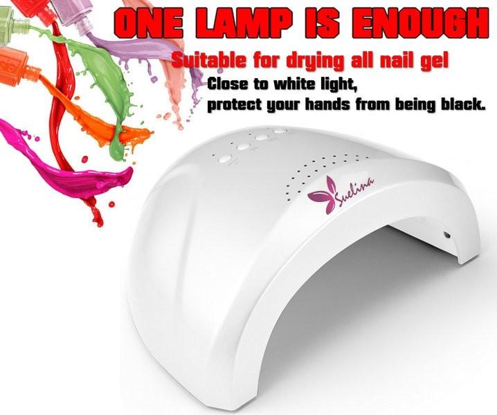 Nail Dryer&FREE SHIPPING 48W Sensor!Timer LED + UV White Light For Nail Polish Nail Gel Nail Art Tools With Fan KT-508