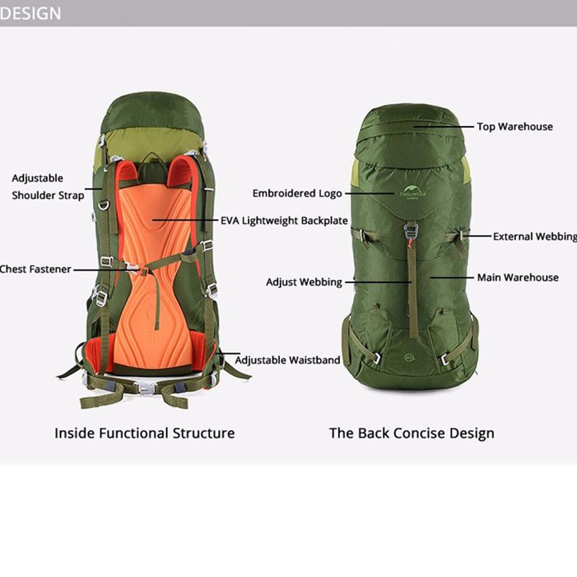 Climbing Backpack NH16B045-D14_ NEW