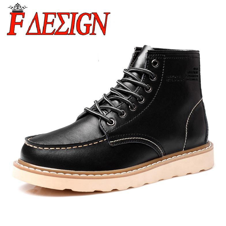 solid lace up classic martin boots 2015 sale