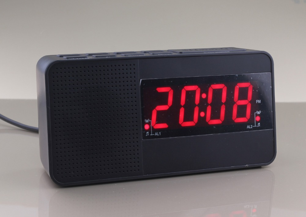 buy degen de1125h multifunction digital fm mw sw radio recording alarm clock black at. Black Bedroom Furniture Sets. Home Design Ideas