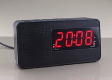 Digital Fm  Alarm LED clock radio  Dual alarm clock  with light sensor