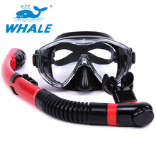 Hot sale Water Sport Training Diving glasses Anti-Fog Snorkeling Equipment Breathing tube Silicone Scuba Diving Mask Snorkel set(China (Mainland))