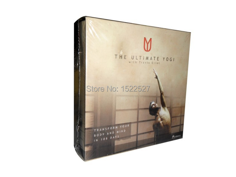 1ps fitness dvd The Ultimate Yogi work out dvd movies Home Fitness Workouts Weight Loss Exercise Video 12 DVD Box free shipping(China (Mainland))