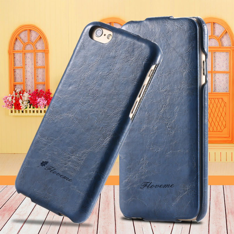 iPhone 7 Case Luxury Grease Glazed PU Leather Apple Plus 6 6S 5 5S SE Fashion Brand Protective Cover Bag - FlovemeOfficial Store store
