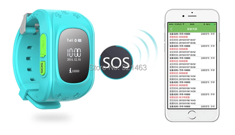 New GPS Trackers for Kids Child Older Smart GPS Watch Bracelet Wristband Positioning of Mobile Phone Anti-lost Personal Tracker(China (Mainland))