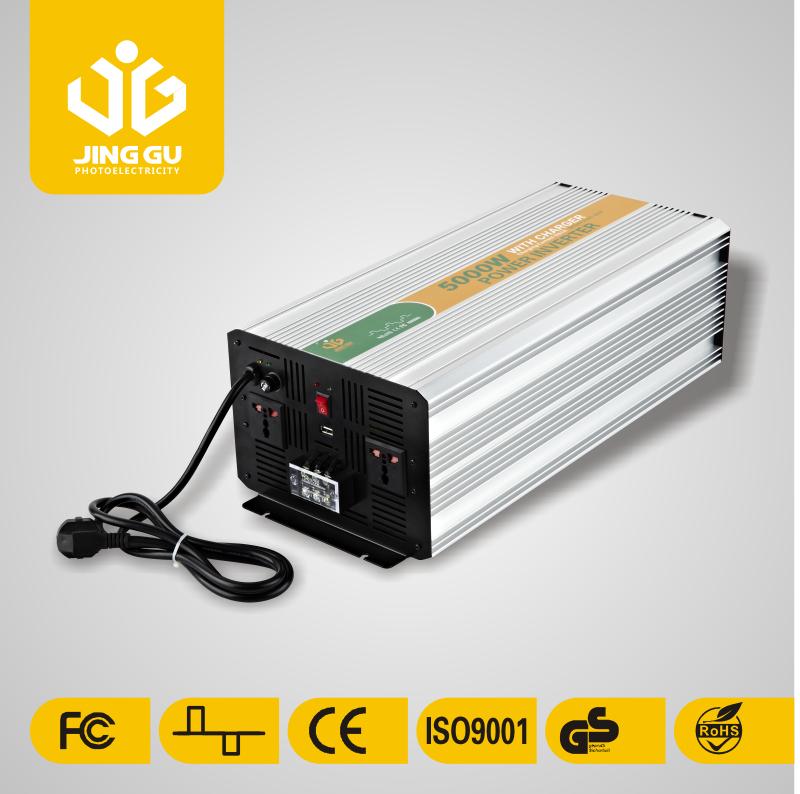 high quality 5000w UPS modified sine wave inverter off grid inverter charger 12V dc to 220v ac solar power inverter for home(China (Mainland))