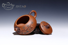 Yixing purple clay painting teapot zisha sand tea pot kungfu set 280ml JN1315