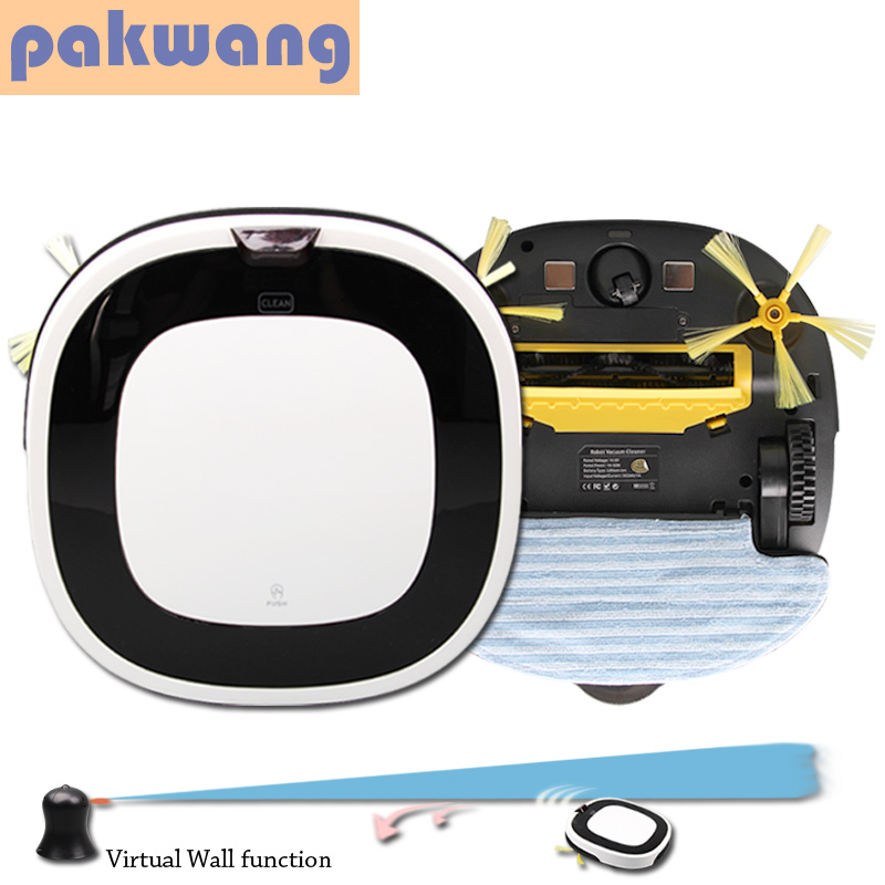 PAKWANG D5501 advanced vacuum robot cleaner big mop auto recharge robot vaccum cleaner wet and dry cleaning floor washing robot(China (Mainland))
