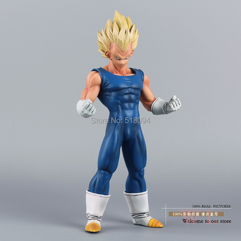 "Гаджет  Free Shipping Anime Dragon Ball Z Super Saiyan Vegeta PVC Action Figure Collection Model Toy 10"" 25CM DBFG133 None Игрушки и Хобби"