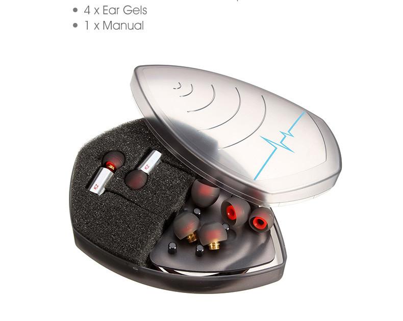 New Stylish KZ ED9 3.5mm In Ear Earphone Heavy Bass HIFI DJ Sport Stereo Earphones Earplug Noise Isolating Auriculares