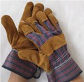 High quality long style welding gloves safety protective wear-resisting High temperature resistant canvas working gloves