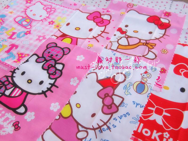 hello kitty Hello Kitty cartoon square screen shot washable slip surface wipe / glasses cloth(China (Mainland))