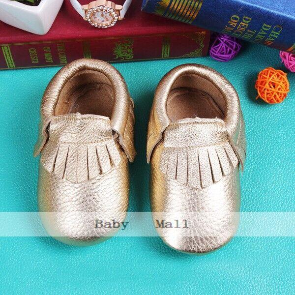 Новый 24 цветов качество из натуральной кожи детские мокасины обувь для девочек и ...