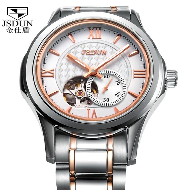 Watch tourbillon movement high quality fashion male table meters waterproof wristwatch 8006