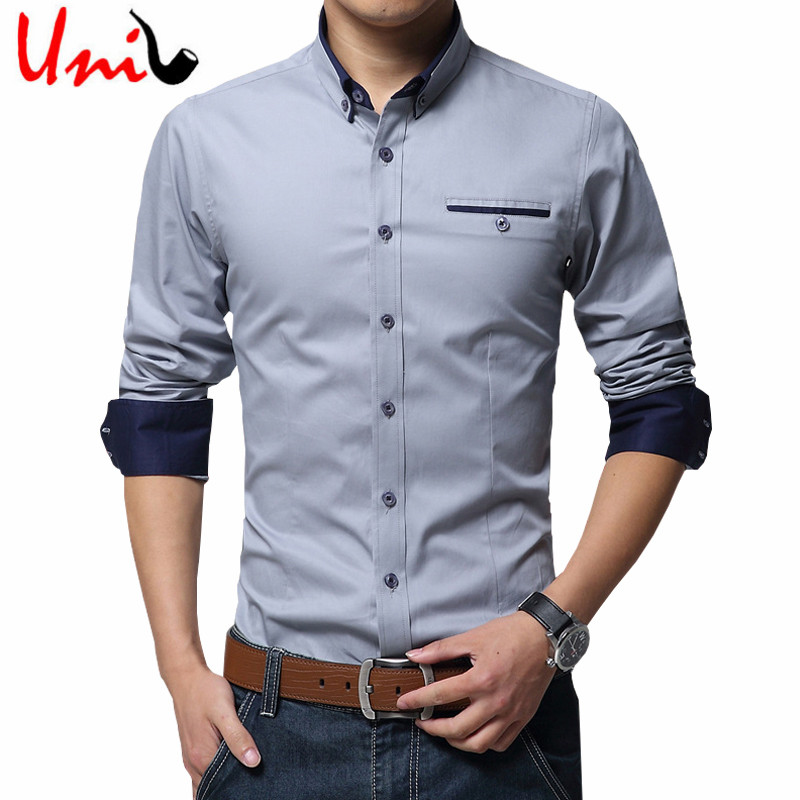 Buy 2016 New Spring Cotton Shirts Men