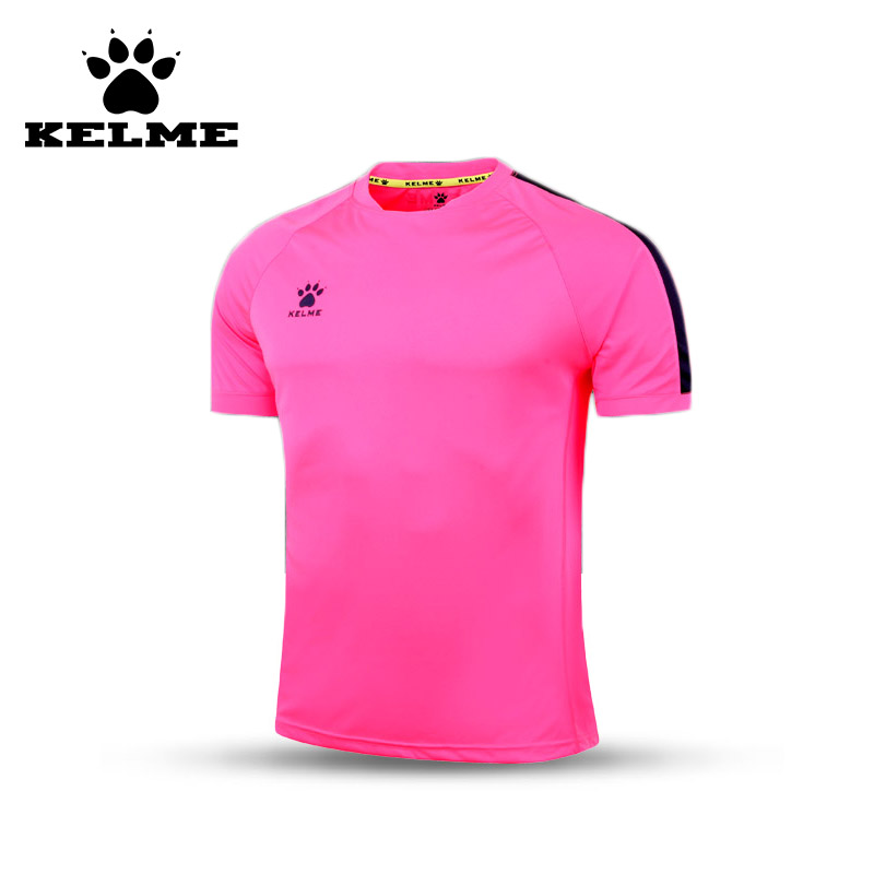KELME Official Authentic Spain Men Soccer Jersey Short Sleeve Sport Training Survetement Football Customized Shirt Quick-Dry 08(China (Mainland))