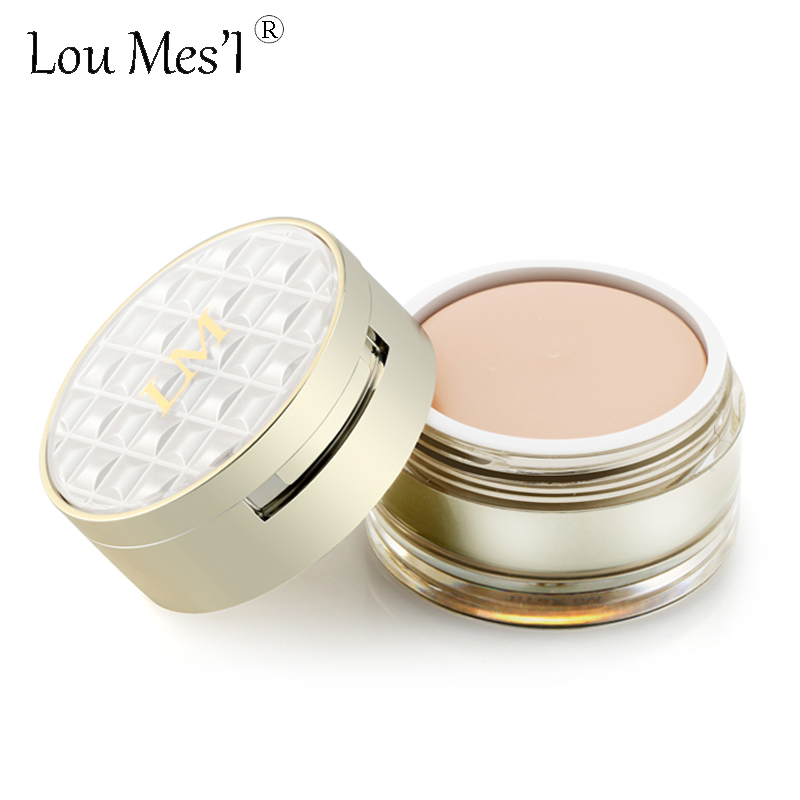loumesi Makeup Base Primer All Round Contour Cosmetics Brighten Highlighter Concealer Palette Perfect Cover Flaws Concealer(China (Mainland))