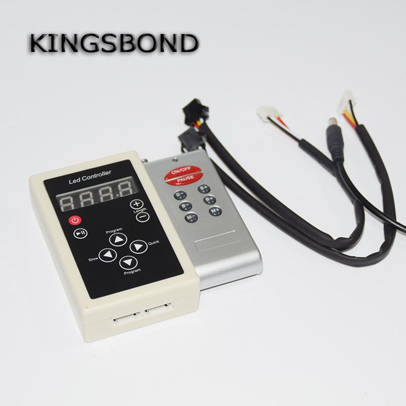 WS2812b 8 keys IR remote controller WS2812 DC 12V rgb strip controller led pixel controller(China (Mainland))