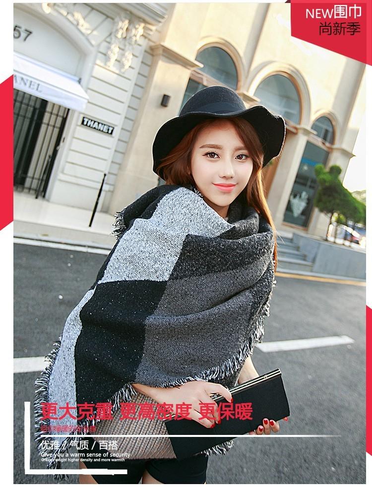 2016 New Designer Fashion Winter Scarfs Women's Long  Luxury Brand blanket Scarves Cashmere  Stole Shawls