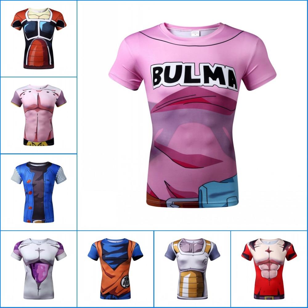 New Dragon Ball T Shirt Men Armor 3d T-shirt Printed Compression Shirt Tops Fitness Tight Sports Tee Shirt Men Shirt(China (Mainland))