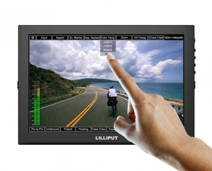 "Lilliput TM-1018/S 10.1"" LED IPS Full HDMI Field Touch Screen Camera Monitor With 3G-SDI , HDMI Input&Output,VGA Input(China (Mainland))"