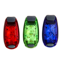 Wholesale 3 LEDs 2 Modes Waterproof Bike Bicycle Cycling Rear Tail Helmet Flash Light Free Shipping