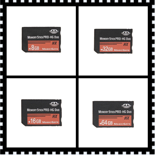 h2testw tested MS HG 4GB 8GB16GB 32GB 64GB Memory Stick Pro Duo Memory Cards for sony psp phone tablet camera(China (Mainland))