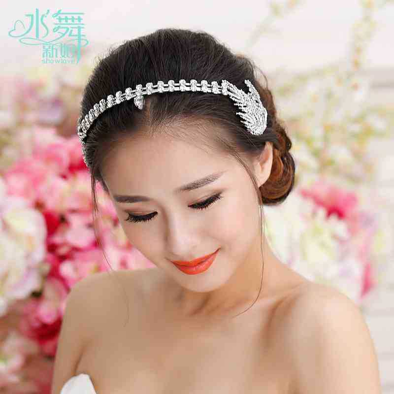 Bouquet Rhinestone Bridal Hairband Headband Crown Tiara Flower wedding head pieces hair accessories wedding jewelry for hair<br><br>Aliexpress