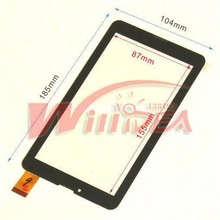Original Film + Touch screen Digitizer 7″ Digma Hit 3G ht7070mg Tablet Touch panel Glass Sensor Replacement Free Shipping