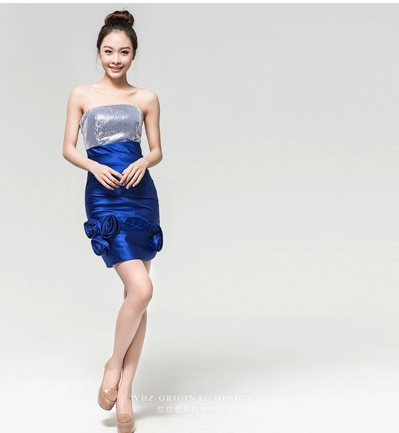 Коктейльное платье 0011