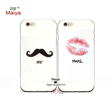 Best Friends Forever Mr.and Mrs M89051 Lover Phone Cases iphone6/6sSE Case Cover Give love gift - Mai Ya Mobile store