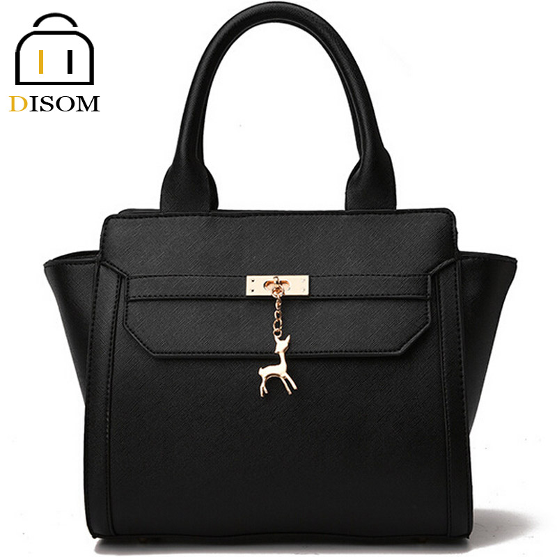 DISOM luxury famous brand designer 2016 women trapeze bags high grade fashion pu leather solid 8 color women purses and handbags<br><br>Aliexpress