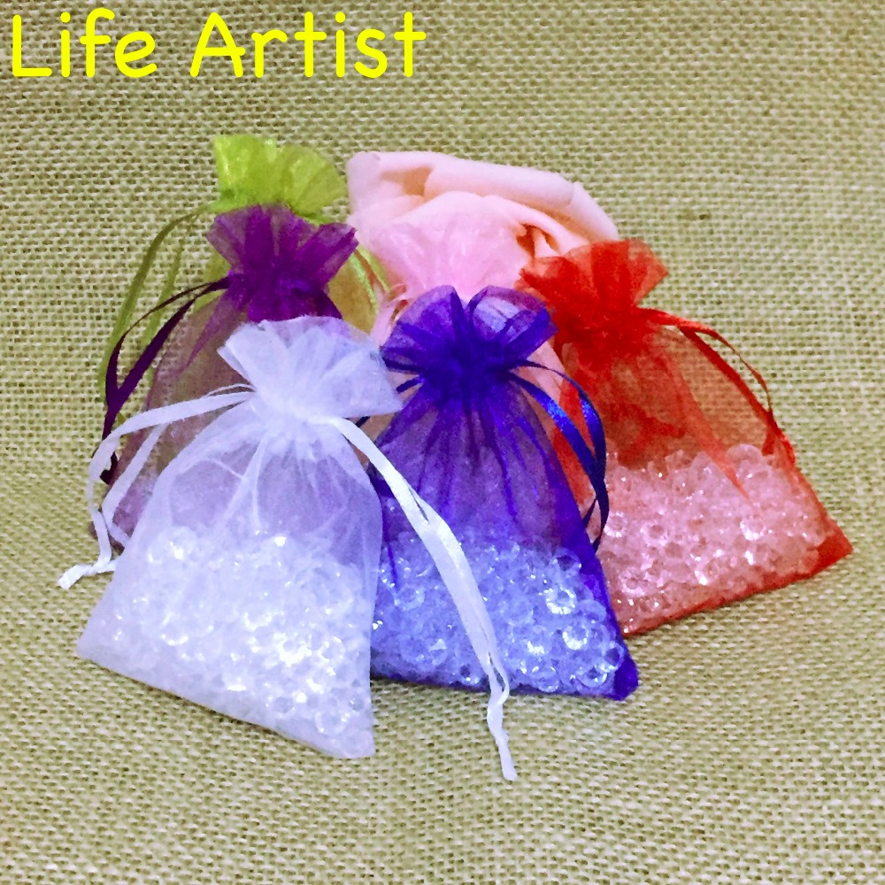 Free Shipping 1pc 8*10cm 6Colors Organza Bags Wedding Gift Bag Jewelry Candy Bag Baby Shower Souvenir Party Christmas Decoration(China (Mainland))