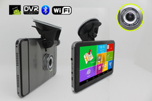 7 inch Android GPS CPU MTK8127 DDR512  with Bluetooth FM and 150 degree DVR camera 1300 mA battery