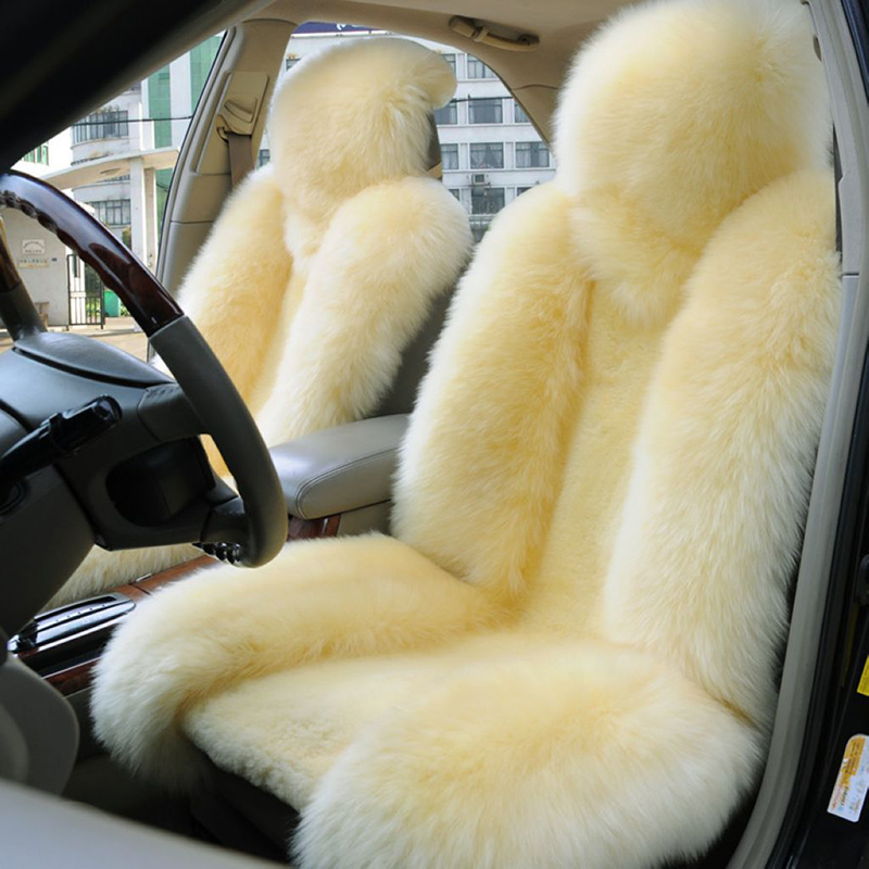 Price Of New Sheep Skin Car Seat Covers