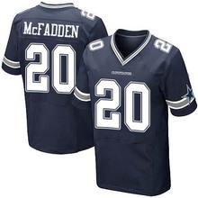Men's #20 Darren McFadden Elite Navy Blue Team Color Football Jersey 100% stitched(China (Mainland))