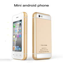 2015 smallest android 4.4.2 Ultra slim mini 6 MTK6572 Dual core wisdom smart 3G Wifi cell mobile phone with play store P17
