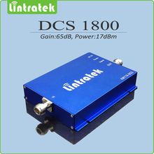 Lintratek Gain 65dbm 2G cell phone signal booster 1800mhz DCS signal amplifier for home