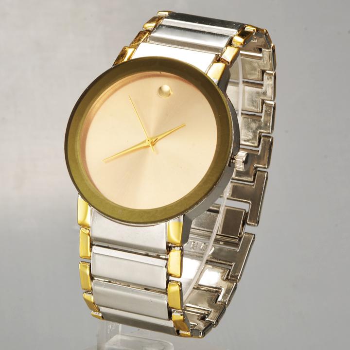 Watches Men 2015 new Luxury Brand Quartz watches Fashion Full Steel watches Gold watch relogio feminino Free Shipping 58<br><br>Aliexpress