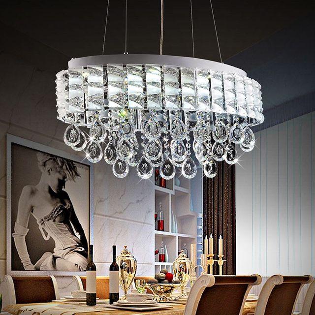 Crystal Chandelier Trash Club: Aliexpress.com : Buy Modern Lustre LED Oval Crystal
