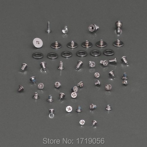 Complete OEM Replacement Repair Full Screw Set Screws for iPhone 4 10pcs/lot Free Shipping
