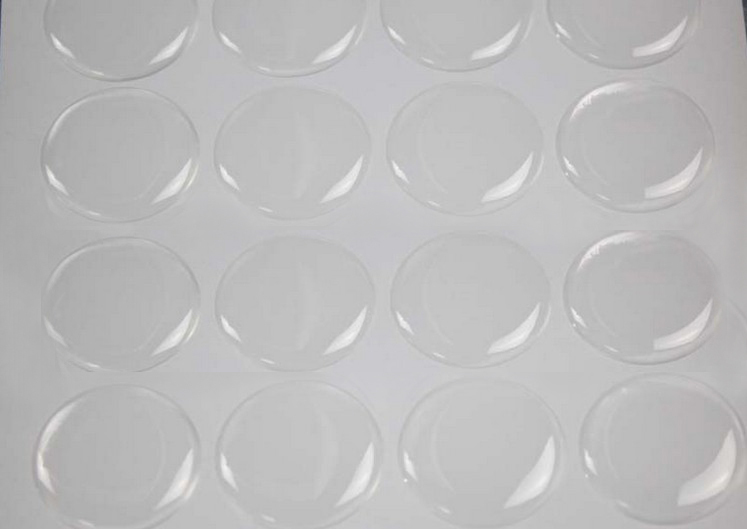 1000pcs 1 inch (25.4mm) clear 3D round Epoxy Stickers Dome Resin Stickers Adhesive Circles Bottle Cap Stickers free shipping(China (Mainland))