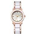 Brand XIAOYA 2016 Ladies Imitation Ceramic Watch Luxury Gold Bracelet Watches with Fine Alloy Strap Women
