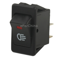 Widely-used and Universal Red Light Car Frog Light Switch for Racing Sport (Vehicle DIY)
