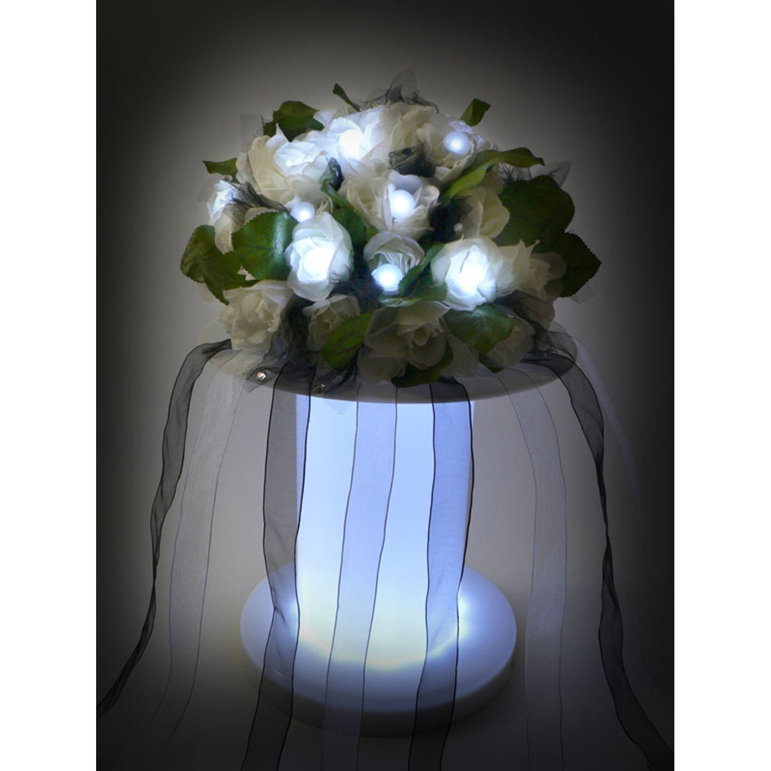 300Pcs/Lot Battery Operated Fairy Pearls Mini LED Light,Multicolor Floating LED Berries Light For Wedding Party Event Decoration(China (Mainland))