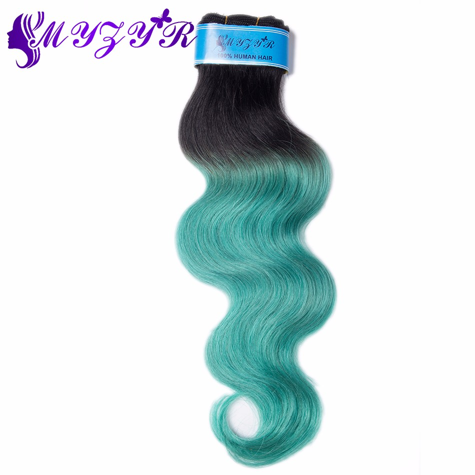 Peruvian Virgin Hair Body Wave 4pcs Peruvian Body Wave Human Hair Bundles Vip Beauty Hair Ombre Green Peruvian Hair Bundles